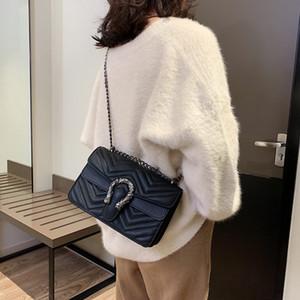 Luxury Fashion Big Flap Borse Borse Donna Marche famose Designer Crossbody Borse Donna Borse a tracolla 2019 Catene Borse donna