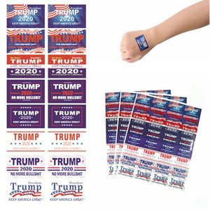 Donald Trump Stickers Notebook Refrigerator Car Sticker 2020 Presidential Election Face Stickers Keep Make America Great 100set T1I2016