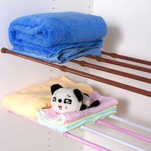 Salle de bains douche Poles tringle à rideau réglable pour rideau de douche Tringle bain rideau extensible Pôle Accessoires pour la maison