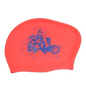Waterproof Swim Caps Senhoras Mergulho Piscina Cap Silicone Mulheres Cabelo Comprido Para Hood Hat For Kids Garras Casquette