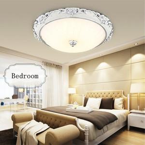 Modern Akrilik Yuvarlak cam abajur Led Tavan Işıkları Aydınlatma Armatürü Modern Lamba Oturma Odası Yatak Odası Mutfak Yüzey Montaj tavan lightsl