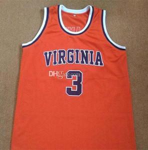 Jeff Lamp # 3 Virginia Cavaliers Colégio Retro Basketball Jersey Mens costurado personalizado faz Número Nome Jerseys