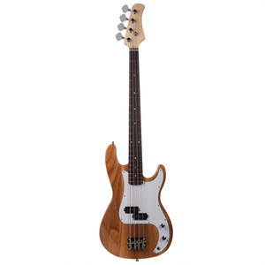 New Squisite Bunywood 4-String Bass Bass Guitar Burning Style Style Style Ship from USA