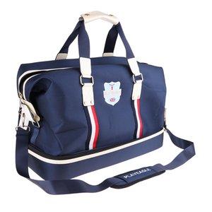 متعددة الوظائف القدرات جولف الملابس بوسطن حقيبة مع أحذية طبقة لياقة بدنية خارجية GYM رياضة سياحة الأمتعة واق من المطر حقيبة الكتف حقيبة حزمة