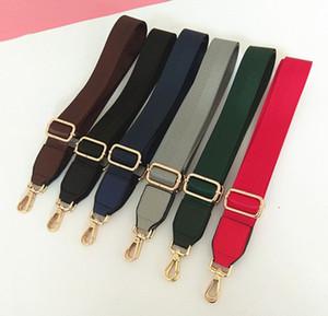 Mulheres Bolsas Strap Nylon listrada Strap Woven para o ombro Crossbody Saco Cintos Handbag Bag Acessórios Parts