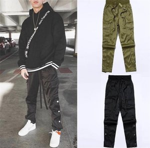 Mens Pants Spring Tooling Trousers Hot Function Outer Zip Button Casual Clothing Fashion Street Style Mens Apparel