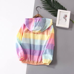 kids  clothes girls baby girl clothes children clothing children's iridescent color apparel hoodies skinsuits 2019 Clothing-429mx