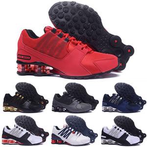 NIKE 0SHOX Avenue 802 2019 High Qualtiy Avenue 803 # PU Hombres Running Tenis Zapatos de baloncesto Zapatillas de deporte Zapatos transpirables entrenador de al aire libre buey
