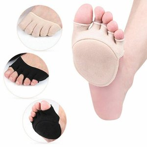 1 par de algodão Mulheres Invisible Durable aperto Toeless tornozelo Pilates Meias Cinco dedo Anti-Slip Aberto Toe Nova