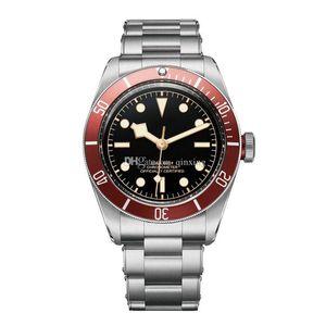 2 Modelo de luxo Assista marca limitada relógios homens herança black bay relógio movimento automático relógio homens relógio de pulso M79230R M79030N