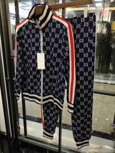 Designer Treino Homens Marca agasalhos ver Mens Outono Luxo Fatos Jogger Suits Jacket Pants Sets Sporting homens Suit impressão