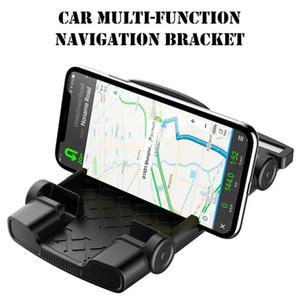 2 1 Araç Evrensel Smartphone Tutucu Standı Tutucu Dağı Standı Danışma Parantez Araç Durdurma Destek GPS iPhone Samsung Xiaomi Sign
