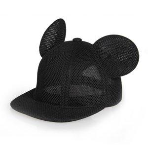 baby cartoon baseball cap mesh hip hop hat children summer hat kids sun caps baby hat beautiful cute