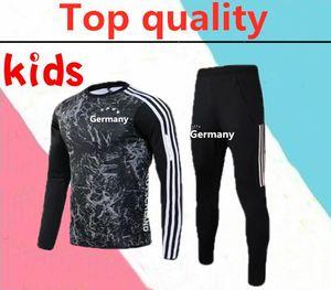 2020 년 독일 HUMMELS KROOS 아이 축구는 2020 년 드락 슬러 레 우스 MULLER GOTZE camisas 드 Futebol의 어린이 축구 훈련 정장 운동복
