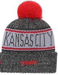 Prezzo scontato Fashion Beanie Sideline Cold Weather Graphite Sport Knit Hat Tutti i team inverno Kansas City Knitted Wool KC Cap 04