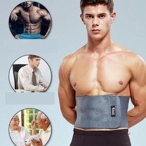 Abdomen de la correa ajustable imán Autocalentador Deportes cinturón de cintura que adelgaza la aptitud Body Sculpting Formación protector Brace el dolor de espalda