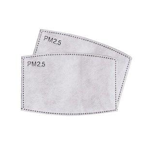Austauschbare 5 Lagen Gesichtsmaske Filter Pad PM2. 5 mit Aktivkohle Staub PM 2,5 Filter Atmen Mund Muffeleinsatz CCA12030