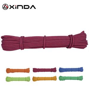 XINDA Escalada 10m Paracord Rock 등산 로프 액세서리 코드 6mm 직경 5KN 고강도 Paracord Safety Rope Survival