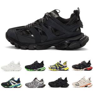 Balenciaga Con le scarpe da corsa 3M Triple S Track 3.0 Box 2019 Release 3 Tess Gomma Maille Le sneakers sportive da corsa da jogging Top quality 36-45