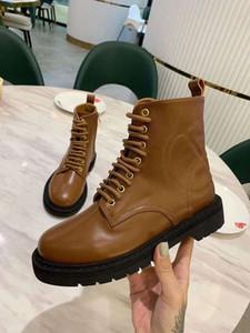 Designer di lusso da donna Martin Outdoor Caviglia Western Autumn Winter Antiscivolo fondo Stivali in pelle di mucca taglia 35-41