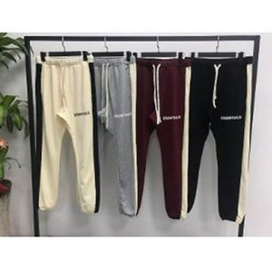 FOG FEAR OF GOD New hiphop Fashion jogger urban clothing bottoms Essentials Side Stripe Sweatpants Pants