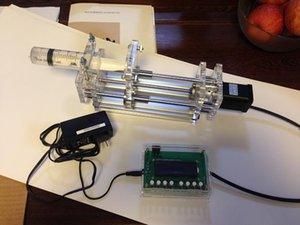 Bomba de jeringa Propulsor / bomba de inyección de micro bomba de laboratorio