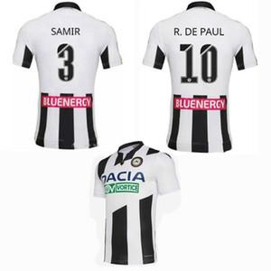 2019 2020 Udinese 1909 Soccer Jerseys maison loin chemise R.DE PAUL FOFANA SAMIR 19 20 de football S-2XL