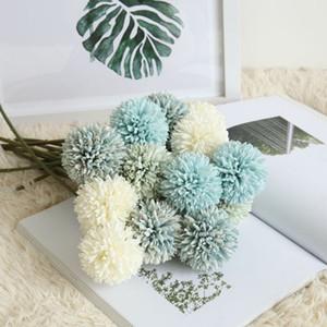 MW57891 одуванчик одна голова терновый шар искусственный букет цветов моделирование украшения для свадьбы и домашнего декора