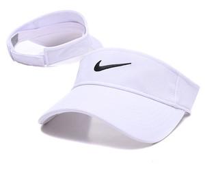 2020 nuovo campo da progettista cappello da sole visiera sunvisor partito berretto da baseball cappello da sole cappelli cappello protezione solare Tennis Beach cappelli elastici trasporto libero