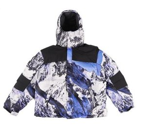 Brand New Mountain Baltoro Piumino 17FW Mens Designer Giacche Donna Windbreaker Luxury Jacket Warmth Winter Jacket Capispalla