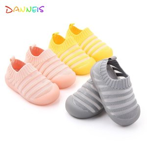 Spring summer new children mesh shoes baby outdoor sports shoes Toddler boys Girls casual stripe antiskid sneakers baby footwear
