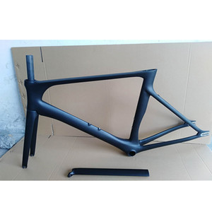 2019 NEW carbon fiber road frame fixed gear bike carbon road frame+fork+seatpost+headset carbon road bike