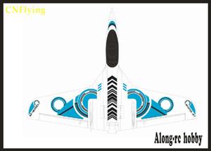 avión de carreras de alta velocidad FlyWing funjet PNP SET o el kit del sistema ALA FLY EPO avión avión RC MODELO juguete de la manía de RC PLANO