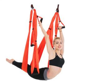 6 Handle Indoor Reverse Aerial Yoga Hammock Yoga Swing Fitness Hammock Outdoor Parachute Cloth YOGA HAMMOCK