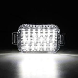 2X White 18-SMD LED License Plate Light for 6 2014-2020