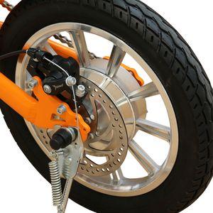36V250W 14 pollici ebike pieghevole con bicicletta elettrica brushless batteria al litio