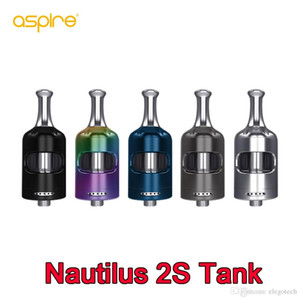 Aspire Nautilus 2S Serbatoio 2.6ml / 2.0ml con Nautilus 2S Bobina 0.4ohm Nautilus BVC Bobina 1.8ohm Per MTL DL E Sigarette Atomizzatori 100% autentico