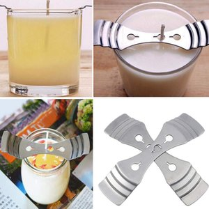 Mode-bougie Kit Faire Comprend 550 ml en acier inoxydable Melting Pot, Wick Bougie Pré-Wax, Wick Equipment Center, une bougie Pot