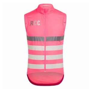 2020 RCC uomini PRO winddicht Wasser abweisend ciclismo maglia senza maniche leggeri in antivento ciclo mesh traspirante gilet Ciclismo