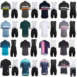 Triathlon 2019 Rapha Cycling Jersey Sets Road Racing Bike Jersey Breathable Cycling Short Sleeves Shirt 9d Bib Shorts Mens Cycling Clothing