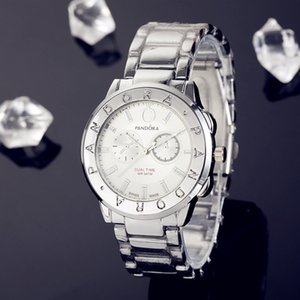 moda lüks saat erkek ve kadın saatleri ünlü marka Pandora kuvars saatler kalite erkek saatleri moda bayan izle Yeni 40mm