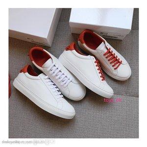 Inverno Autunno di alta qualità nuova di modo del progettista di marca delle scarpe da tennis GIV comode scarpe casual scarpe di cuoio genuini Donne Uomini piano bianco