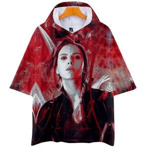 Avengers 4 Endgame Imprimé 3D T-shirts à capuche pour femme / homme T-shirts à manches courtes pour hommes