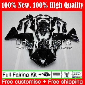 Glossy black Body For YAMAHA YZF 1000 R 1 YZF-1000 YZFR1 09 10 11 12 99MT1 YZF R1 09 YZF1000 YZF-R1 2009 2010 2011 2012 Fairing Bodywork