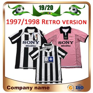 97/98 레트로 버전 RONALDO Soccer Jersey 1997/1998 # 10 DEL PIERO # 9 INZAGHI # 21 ZIDANE # 26 DAVIDS Italia 1999/2000 football Shirt