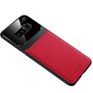 Кожаный Чехол для телефона Для Samsung Galaxy Note10 Note10Pro Note8 A7 2018 S10plus A20 / A30 A70 Hard Case