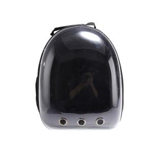 Atacado 10pcs Pet Carrier Backpack para pequeno carrinho de cachorro-transparente PET Cápsula Espacial Transportadora Backpack 5 Cor