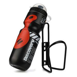 650 мл Открытый держатель для бутылки с водой Кейдж Стойка Горный Велоспорт Велосипед Комплект Легкий алюминиевый сплав Стойка
