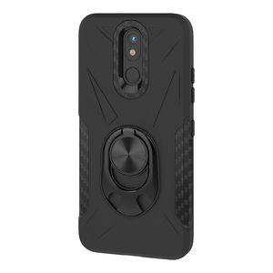 360 Кольцо Kickstand Магнитная броня сотовый телефон чехол для Iphone 8 8 плюс XS XS MAX XR TPU PC 2 в 1 OPPbag