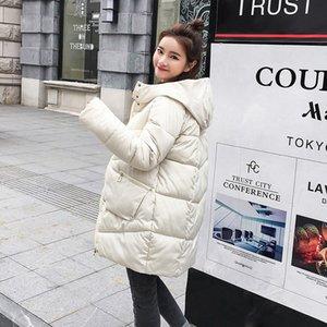 L'hiver vers le bas coton filles long Fonds Épaississement Keep Warm coton rembourré Veste écolière pain Servir en vrac les vêtements en coton rembourré